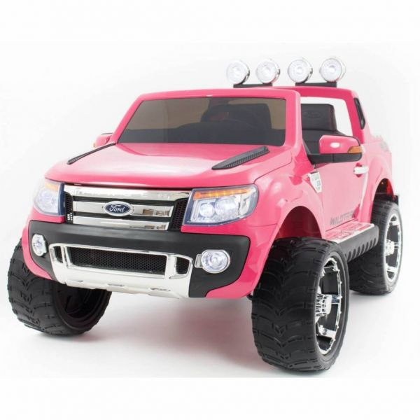 ford ranger metallic pink kinder elektrische auto kid cars. Black Bedroom Furniture Sets. Home Design Ideas